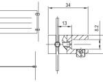 Кронштейн ТС 5.01 (универсальный) чертеж