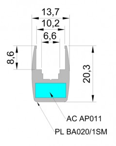 panelled 20 mm 1 PanelLED 20 мм