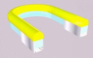 kabel dlya xolodnogo neona 2 Профиль кабель канал PR SU021 для холодного неона