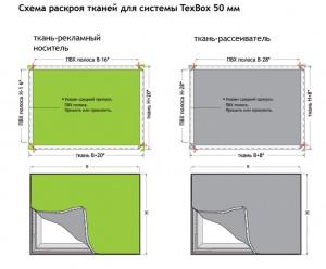 texbox 50 4 TexBox 50 Система алюминиевых профилей