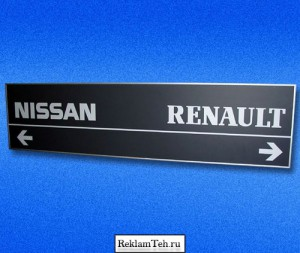 navigacia steny 03 Навигационные таблички, стенды и указатели