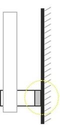 distancionnie derjzateli primenenie3 - Держатели для стекла ForINOX. Дистанционные держатели