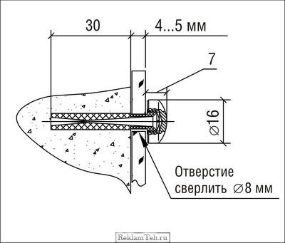 chertezh dergatel 5.10 Держатели со сверлением