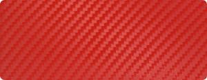 Ярко-красный виниловый карбон