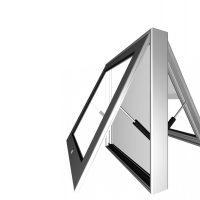WindowBox 70 2 - Витринный короб с дверцей WindowBox 70