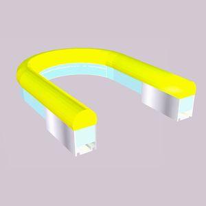 Profil kabel kanal PR SU021 dlya holodnogo neona - Монтажные профили AluRain