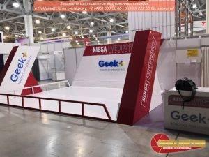 izgotovlenie vystavochnyh stendov geek 02 300x225 - Выставочный стенд