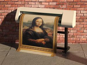 печать изображения на светопропускающей ткани