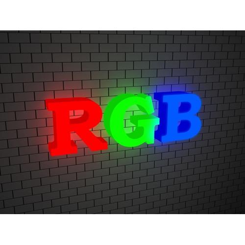 OBemnye bukvy RGB 2 - Объемные буквы