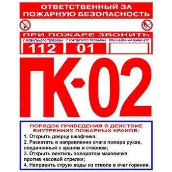tablichki pozharnoi bezopasnosti 05 350x350 - Таблички «ПОЖАРНЫЕ»