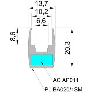 panelled 20 mm - Panel LED